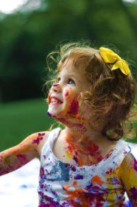 enfant émotion joie PBA