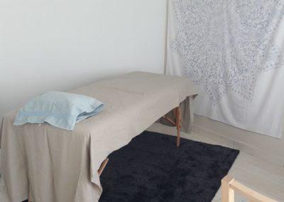 Cabinet de PBA à Lyon Solaize : Table de soin